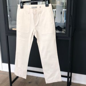 Vince cotton cropped pants.